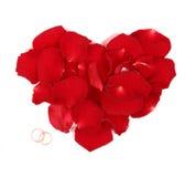 кольцо сердца Стоковая Фотография
