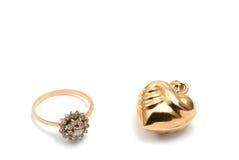 кольцо сердца Стоковые Изображения RF