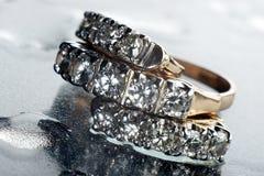 кольцо серьги Стоковые Фото