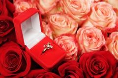 кольцо цветков Стоковое Изображение RF
