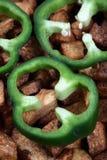 кольцо capsicum Стоковая Фотография
