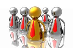 команда бизнеса лидер