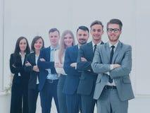 Команда дела в современном офисе Стоковое Изображение RF
