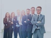 Команда дела в современном офисе Стоковые Фотографии RF