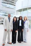команда дела разнообразная этническая Стоковые Изображения RF