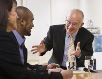 команда деловой встречи Стоковое Изображение