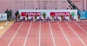 команда европейца чемпионата атлетики Стоковые Изображения RF