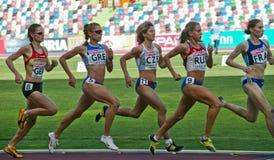 команда европейца чемпионата атлетики Стоковое Фото
