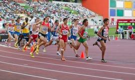 команда европейца чемпионата атлетики Стоковые Фотографии RF