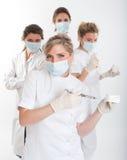 команда женщины дантиста стоковые изображения rf