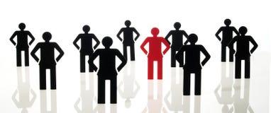 команда знака людей Стоковое Изображение RF