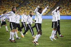 команда игроков футбола немецкая национальная Стоковые Изображения