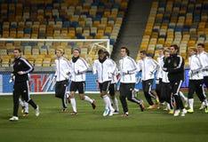 команда игроков футбола немецкая национальная Стоковые Изображения RF