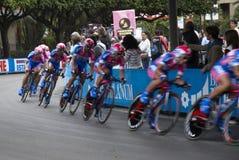 команда Италии giro d Стоковые Фотографии RF