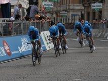 команда Италии giro garmin баррачуды d Стоковое Фото