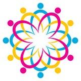 команда логоса иллюстрация штока