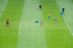 команда Нидерландов евро 2012 Стоковая Фотография
