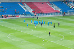команда Нидерландов евро 2012 Стоковые Фото