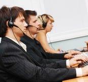 команда обслуживания клиента стоковое фото