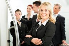 команда офиса бизнеса лидер Стоковые Изображения