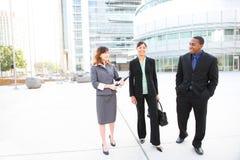 команда офиса дела здания разнообразная Стоковое фото RF