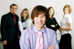 команда руководителя бизнеса стоковые фото