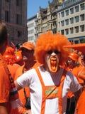 команда сторонниц голландского футбола национальная Стоковое Изображение RF