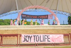 Команда танца клоуна Prattville выполняет Стоковая Фотография RF