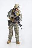 команда тяжёлого удара офицера Стоковые Фотографии RF