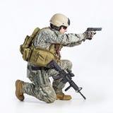команда тяжёлого удара офицера Стоковые Фото