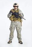 команда тяжёлого удара офицера Стоковое Изображение RF