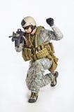 команда тяжёлого удара офицера Стоковая Фотография RF