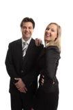 команда успеха деловых партнеров Стоковое Изображение RF