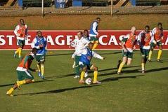 команда футбола bafana Стоковое Изображение RF