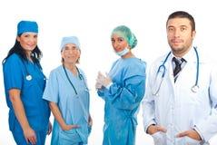 команда хирургов человека доктора содружественная Стоковые Изображения RF