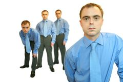 команда человека одного Стоковое фото RF