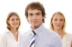 команда 3 бизнес-групп Стоковые Фото