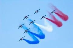 команда airshow Стоковые Изображения