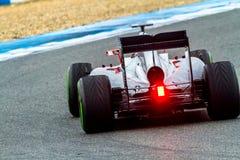 Команда McLaren Honda F1, Фернандо Алонсо, 2015 стоковое изображение