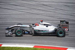 команда schumacher gp mercedes michael petronas Стоковые Фото