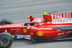 команда scuderia Формула-1 alonso fernando ferrari Стоковые Фотографии RF