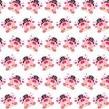 Командос piggy - картина 15 стикера иллюстрация вектора