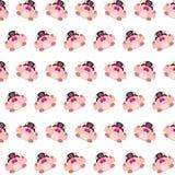 Командос piggy - картина 20 стикера иллюстрация штока