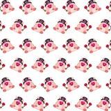 Командос piggy - картина 25 стикера иллюстрация штока