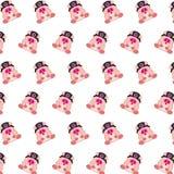 Командос piggy - картина 28 стикера иллюстрация штока