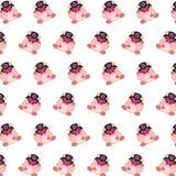 Командос piggy - картина 30 стикера бесплатная иллюстрация