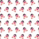 Командос piggy - картина 33 стикера иллюстрация вектора