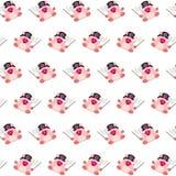 Командос piggy - картина 34 стикера бесплатная иллюстрация
