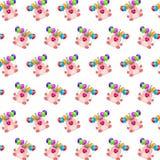 Командос piggy - картина 36 стикера иллюстрация штока