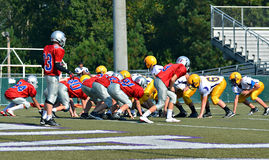 Команды готовые для того чтобы сыграть футбол Стоковая Фотография